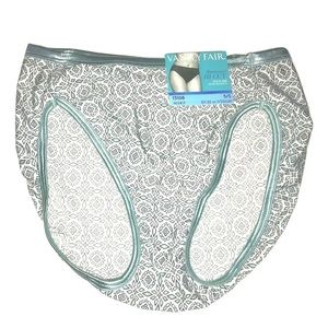 Vanity Fair Illumination Hi Cut Panties One Pair